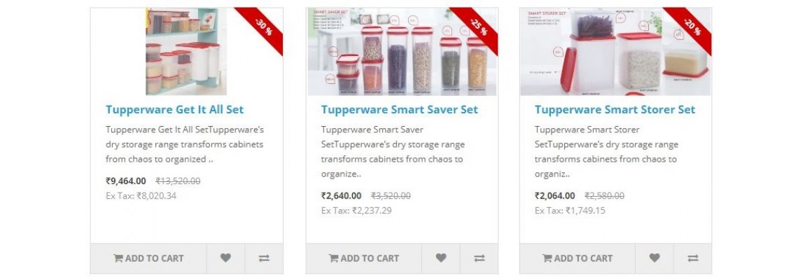 Tupperware Offers